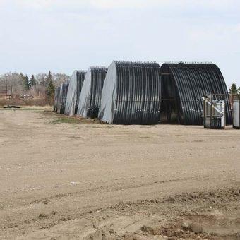 Grain bin metal floor in stock