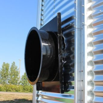 Outside fan mount adaptor for Cross Air