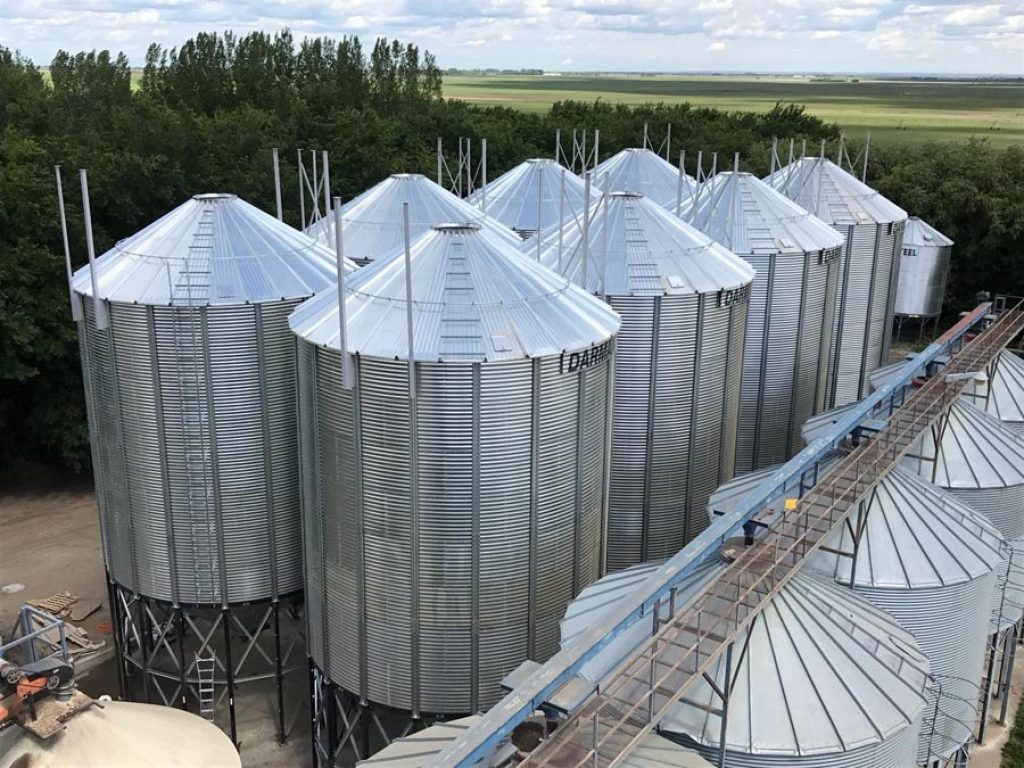 Hopper Bottom Grain Bins - Darmani North America