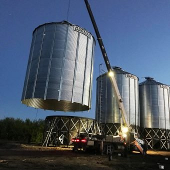 Hopper Bottom Grain Bins Darmani North America
